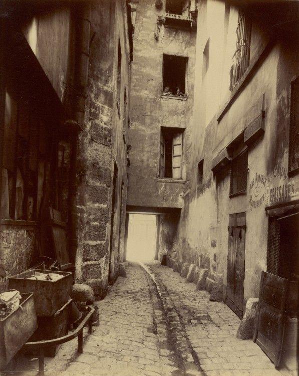 t Paris Coin rue de Seine Le Paris de 1900 par Atget