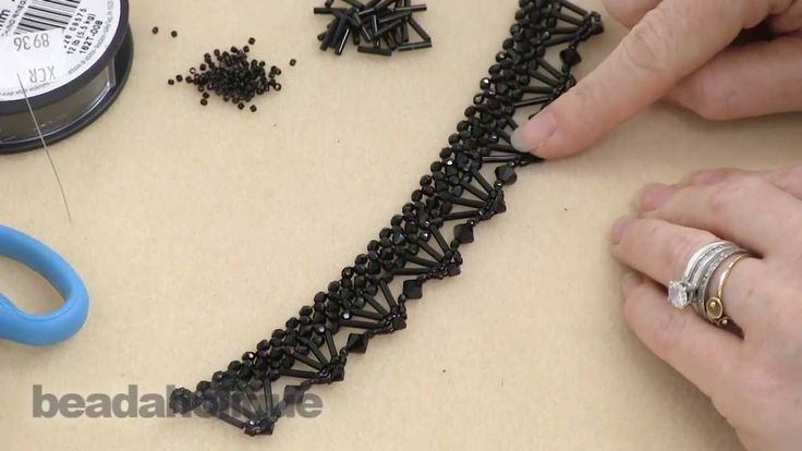 How to Bead Weave the Isabella Collar Necklace  ~ Seed Bead Tutorials