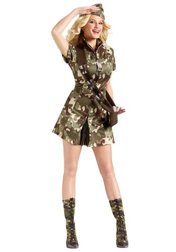 Sexy Major Lee Tanked Costume #halloween #adult #funny