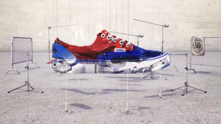 NAB 2017 Rewind - Barton Damer: Nike: Anamorphic Artwork and Camera Projection for Print and Animati