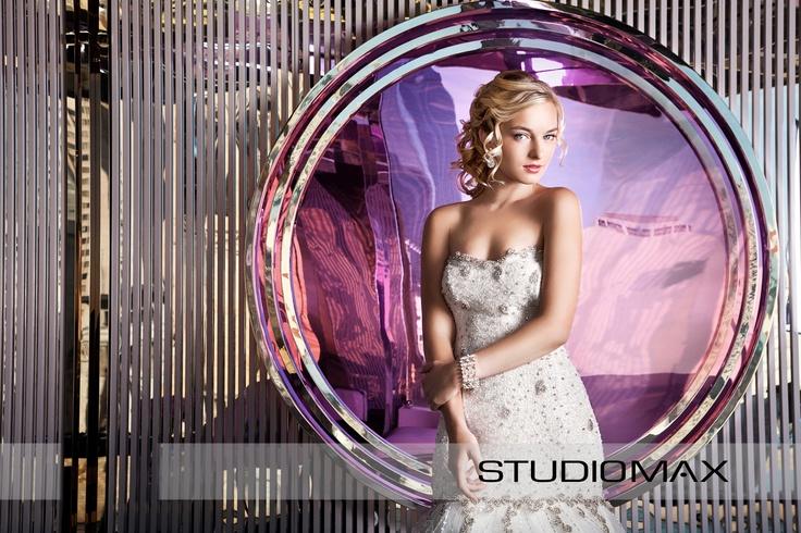 Melbourne Wedding Photographers, StudioMax shot for Melbourne Wedding & Bride Magazine. High Fashion Wedding Editorial.