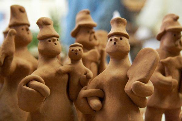 Каргопольская народная игрушка из глины мастер класс - Master class