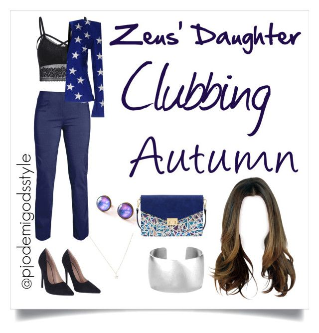 """Zeus' Daughter Fall #10"" by misszizzentyu ❤ liked on Polyvore featuring Gareth Pugh and Mellow World"