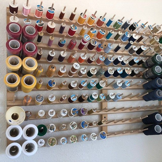 thread rack 3 inch industrial spools