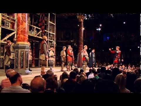 The Crispin's Day speech, from the Globe's 2012 Henry V, with Jamie Parker as Henry. DVD available at http://www.shakespearesglobe.com/shop/product/shakespea...