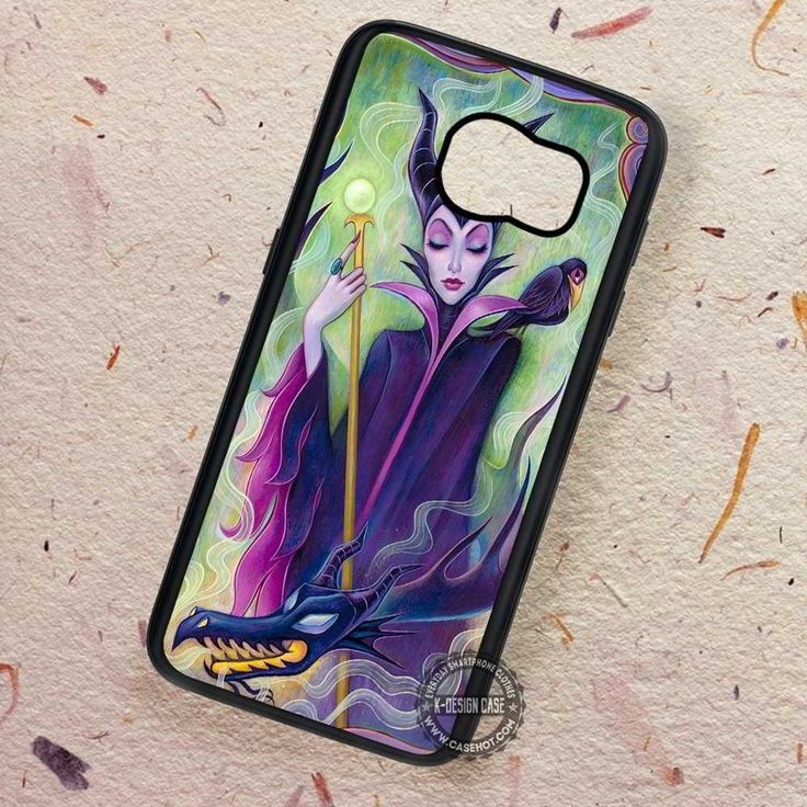 Villain Disney Maleficent Character - Samsung Galaxy S7 S6 S5 Note 7 Cases & Covers