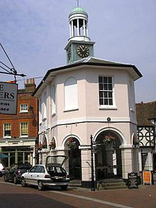 Godalming is a historic market town in Surrey, England, traversing the banks of the River Wey