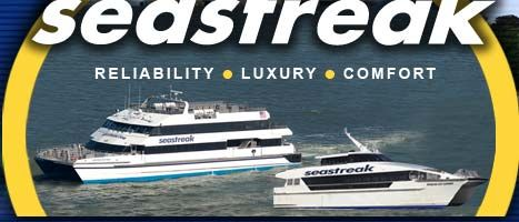 Seastreak Ferry cruise from New York to /Martha's Vineyard