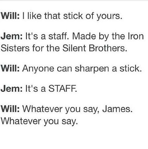Will is just too funny!