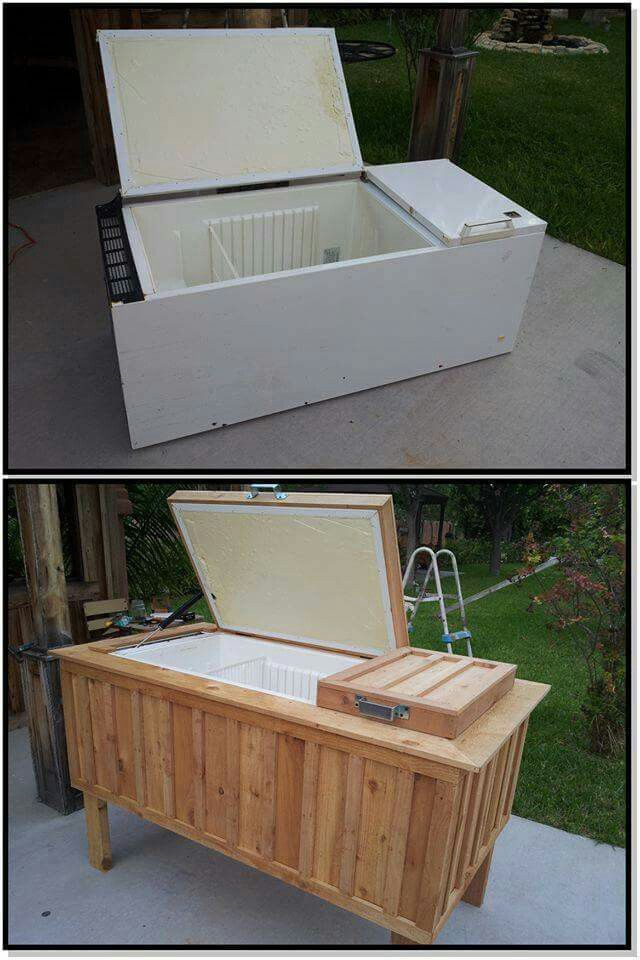 Reusing Old Furniture best 25+ old refrigerator ideas on pinterest | old fridge cooler