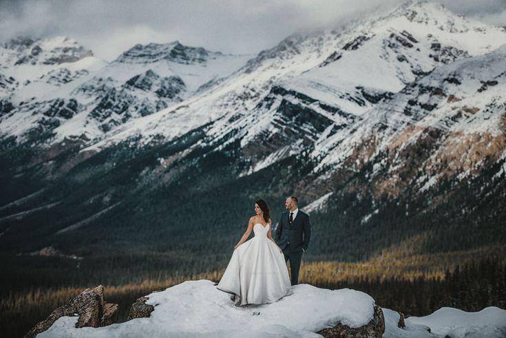 Krysta and Ryan – Banff Springs Wedding – Peyto Lake Wedding – Carey Nash Photography