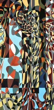 "Saatchi Art Artist Graziella Coi; Painting, ""Questa giungla mi distrugge (3 di 3)/ This jungle destroys me (3 of 3)"" #art"