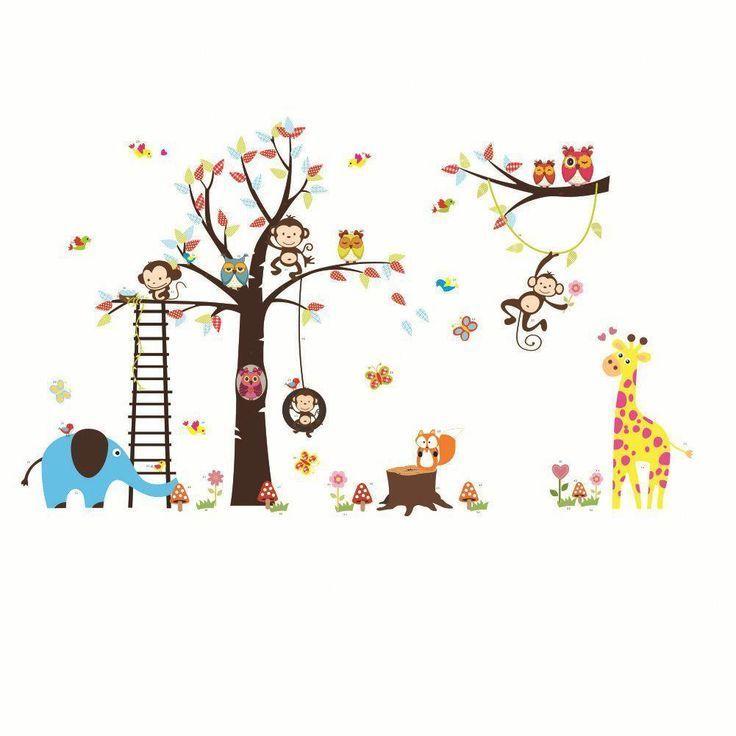 Wandtattoo für die Schrankinnenseite, Deko fürs Kinderzimmer