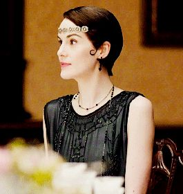 Last Days of Downton ...Mary Crawley in Downton Abbey 6.01..