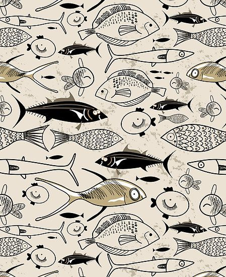 graphic fish by Tanor