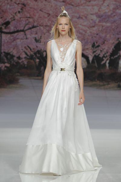 Vestidos de novia línea A 2017: 40 diseños para lucir una figura estilizada y entallada Image: 20
