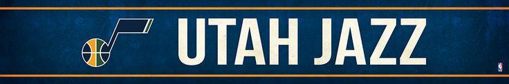 Utah Jazz Street Banner $19.99