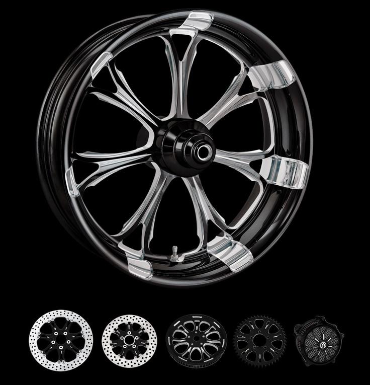 PM Motorcycle Custom Wheels Paramount Custom