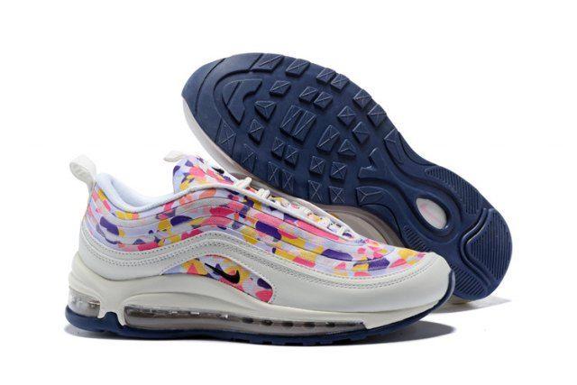 Mens Nike Air Max 97 UL 17 Premium White Confetti Multi