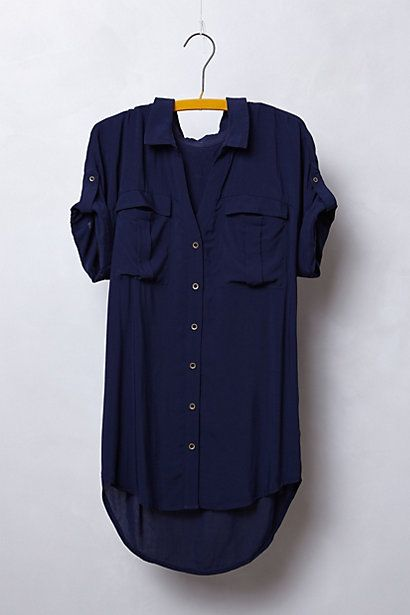 Nice colour loose shirt would be nice in silk it is expensive for what it is so I would just find similar but you would wear it loads so if it is well made it would be worth it rather than a cheaper one that would fade and loose its shape.