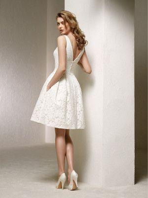 vestido novia boda civil - colección 2018 pronovias | vestidos de