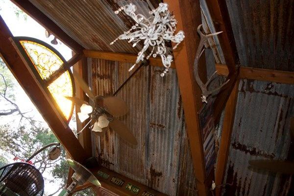 rusted barn tin ceiling - photo #33