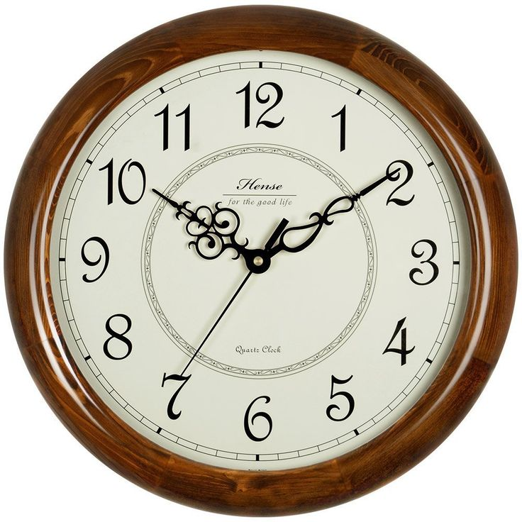 Wall Decor: Round Decorative Clock With Over Sized Numbers And Distressed Face Sideways Numbers from Simple Style With Large Decorative Wall Clocks
