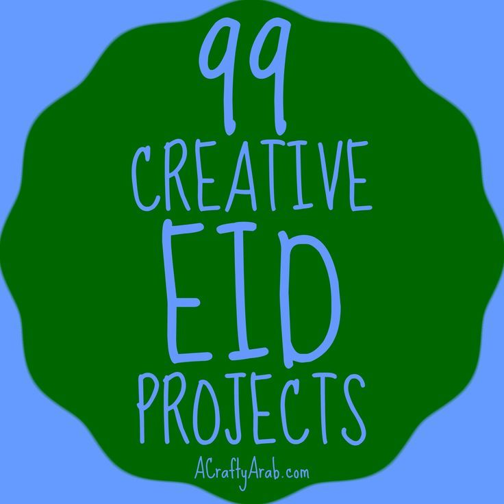 A Crafty Arab 99 Creative Eid Projects. Eid is the Arabic word for feast or holiday. While it is common to think of Eid as only celebrating the two largest Muslim festivals, in particular Eid al-Fitr or Eid al-Adha, the word itself is in many other occasions. There are very few holidays that don't use the word Eid, for example, …