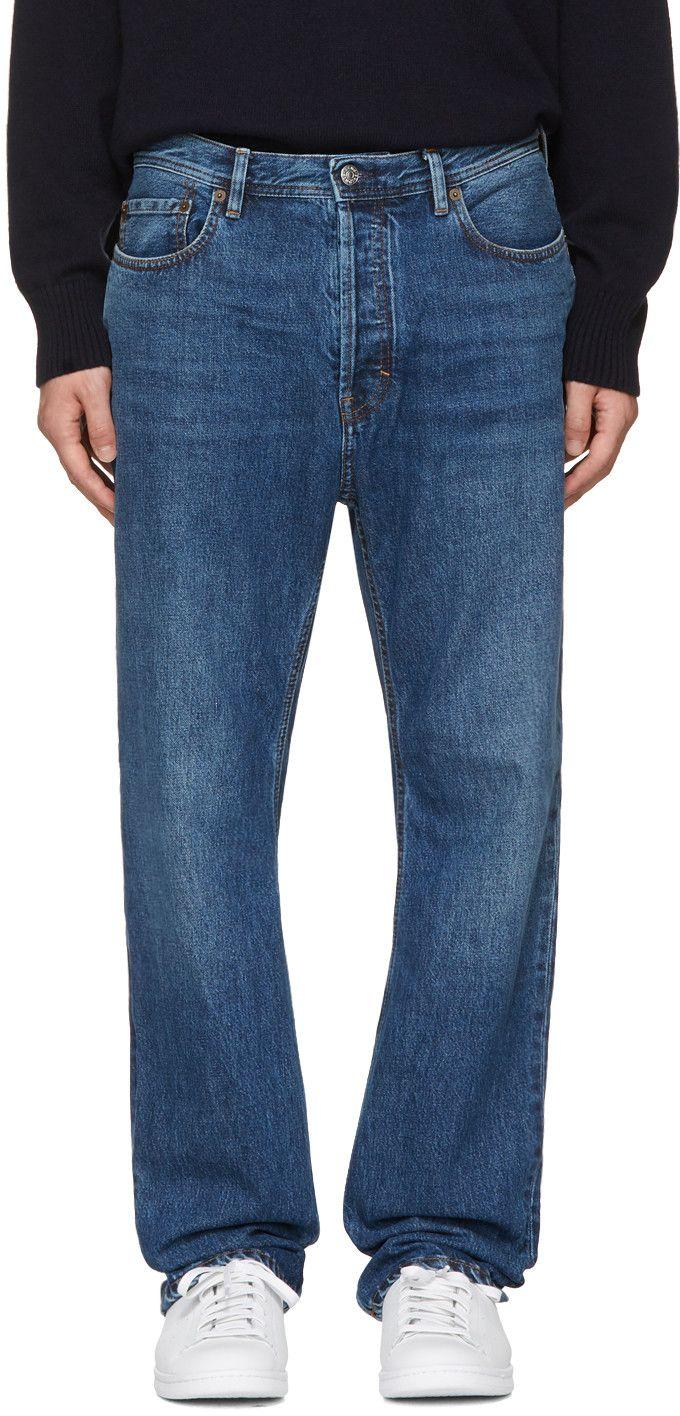 a40e81d511b ACNE STUDIOS Blue Land Jeans.  acnestudios  cloth  jeans