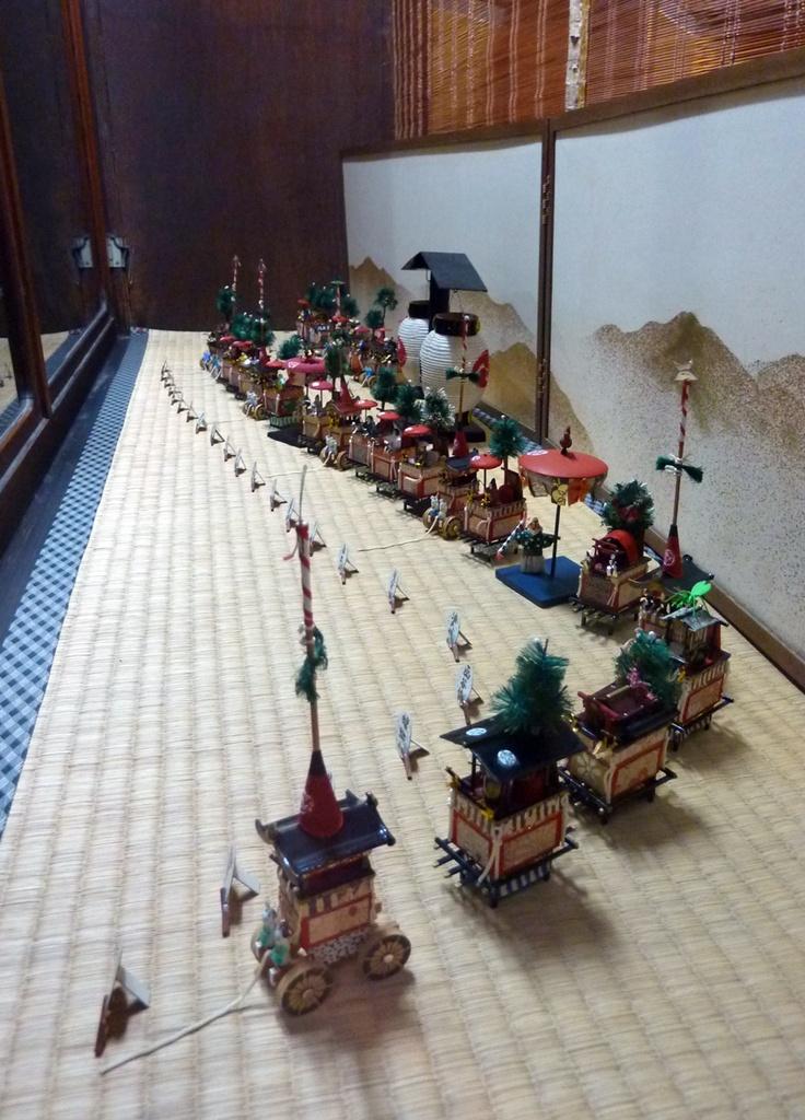 Gion Festival in Kyoto 祇園祭  Miniature