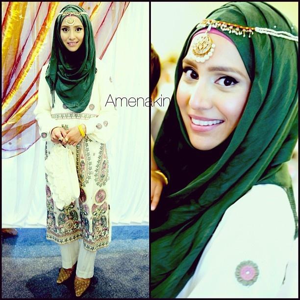 you should check out her hijab/hoojab tutorials on youtube. she's amazing. username is amenakin #hijab