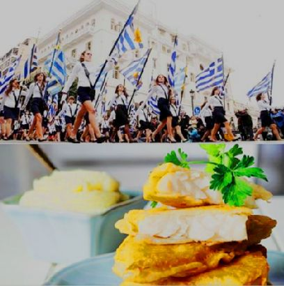 Celebrating freedom & prosperity can only be a good thing. Values that every country in the world deserves to cherish. Today, it is Greece's special day. Let's portray it with happy sentiments and the traditional meal of the Greek Independence Day. Enjoy your tender cod fillet with potato & garlic puree! We certainly did here at Cretan Pearl Resort & Spa!