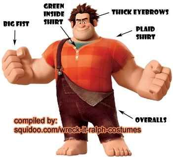 Wreck it Ralph Costumes