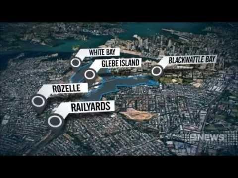 Nine News Sydney: Bays Precinct to be redeveloped (17/7/2014)