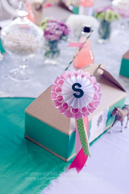Awesome favors at a horse party! See more party ideas at CatchMyParty.com!  #partyideas #horse