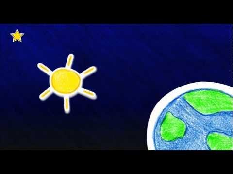 Pourquoi les étoiles brillent-elles la nuit ? - YouTube