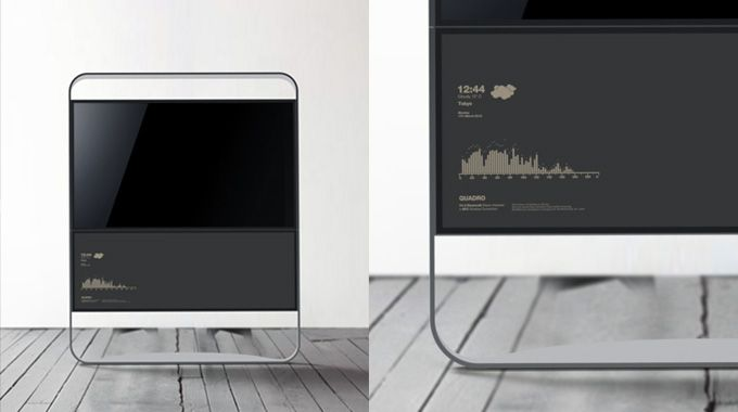 "Segno - 32"" LED Television Concept - Ponti Design Studio Ltd."