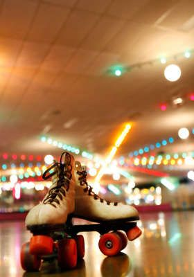 Roller Rink Admission And Skate Rentals For Four