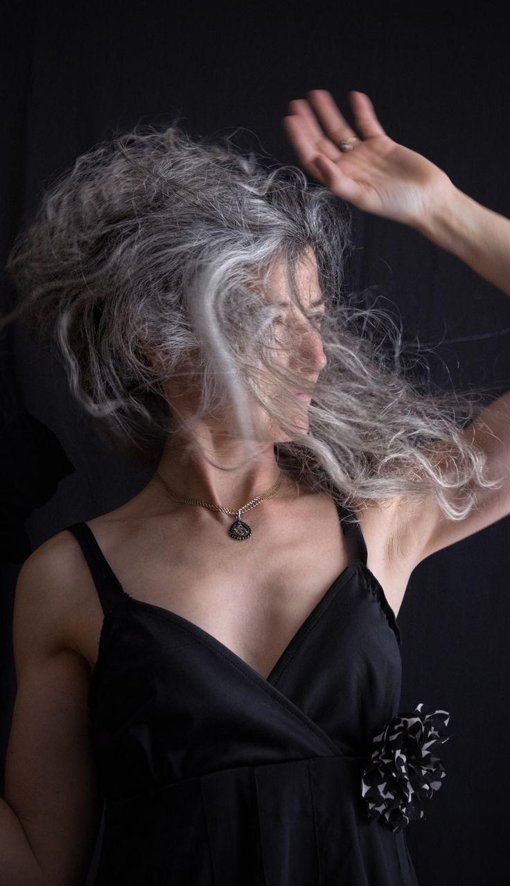 best LUV gray images on Pinterest Gray hair Grey hair and