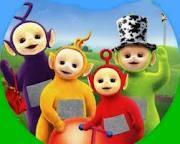 Tinky Winky, Dipsey, Lala, Po...  Teletubbies!