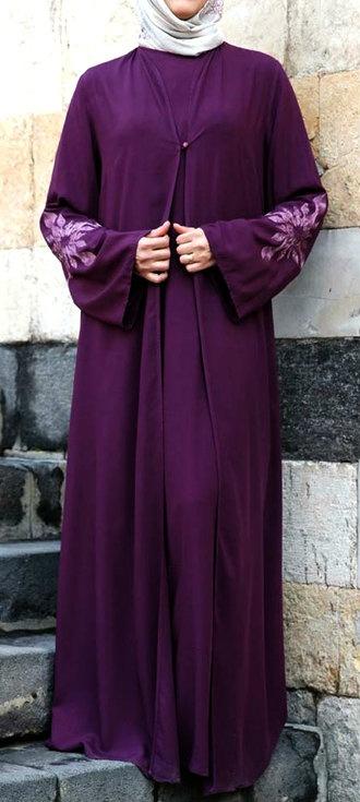 Mussaret Abaya-Dress to wear with #Hijab.