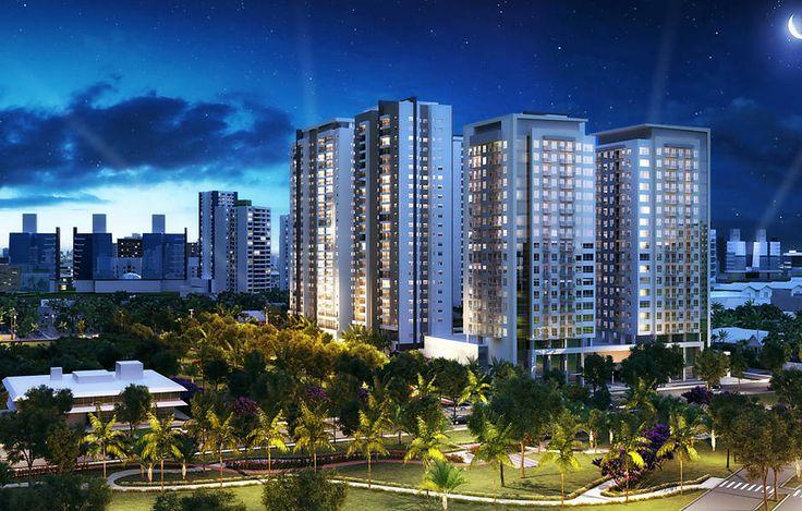 Criada em 2007, a Odebrecht Realizações Imobiliárias constrói projetos residenciais, empresariais, comerciais, hoteleiros e de uso misto, com mais de 6.000 funcionários. Na imagem, divulgação das torres comerciais do empreendimento Cidade Viva, em Santo André (SP)