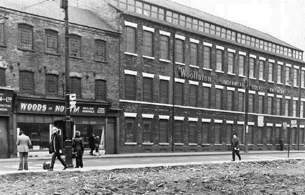 Arkwright Street, William Gibson's Hosiery Factory, 1974