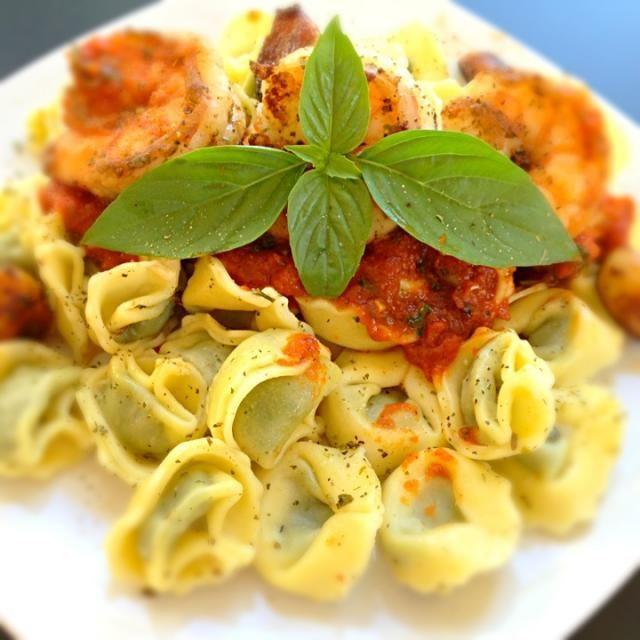 レシピとお料理がひらめくSnapDish - 29件のもぐもぐ - Tortellini with grilled prawns by @namamoto