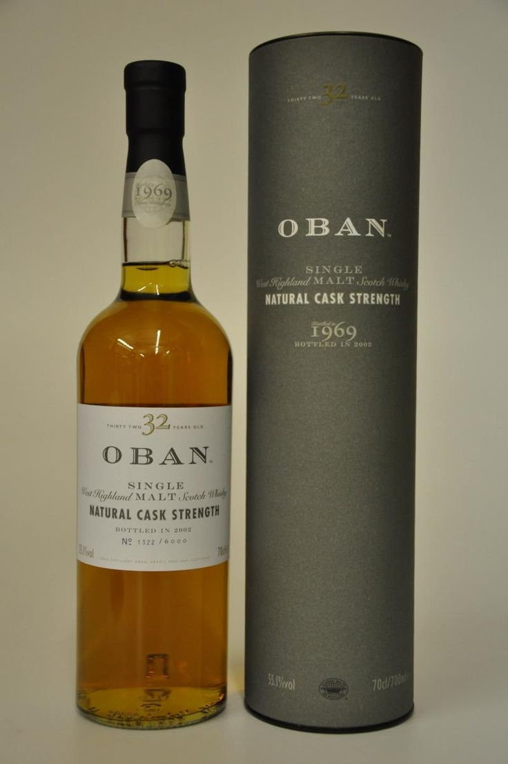 oban whisky - 32 years old / Cask Strength