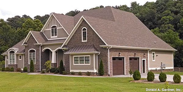 House Plans With Photos: The Birchwood House Plan Images