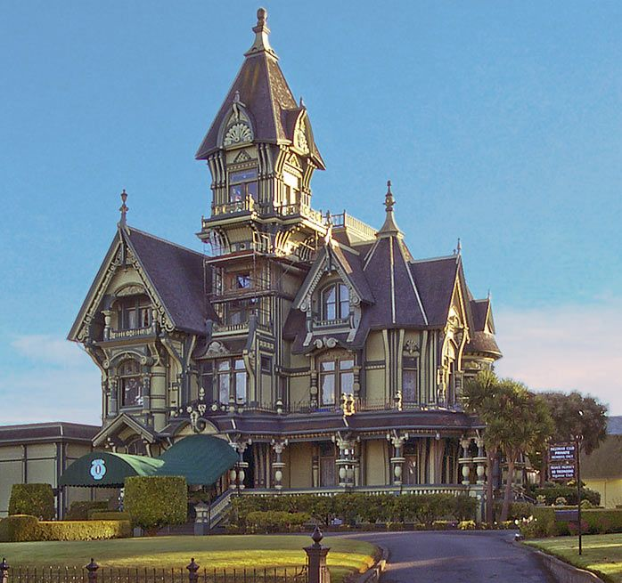 Carson Mansion Eureka California Victorian Houses