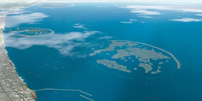 islas artificiales de dubai mapa - Buscar con Google