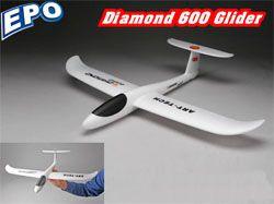 Метательный планер Art-Tech Diamond 600 EPO (22121)