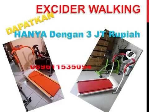 gratis ongkir, excider walking, treadmill elektrik, treadmill mini, free...